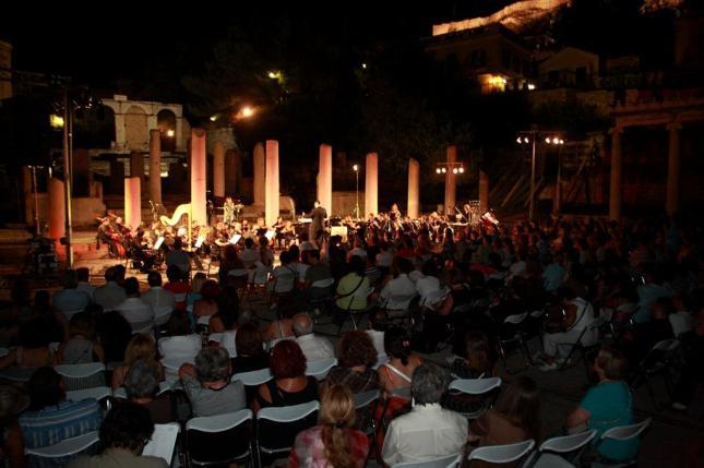 Στη Ρωμαϊκή Αγορά... Ένα στιγμιότυπο από τη συναυλία.